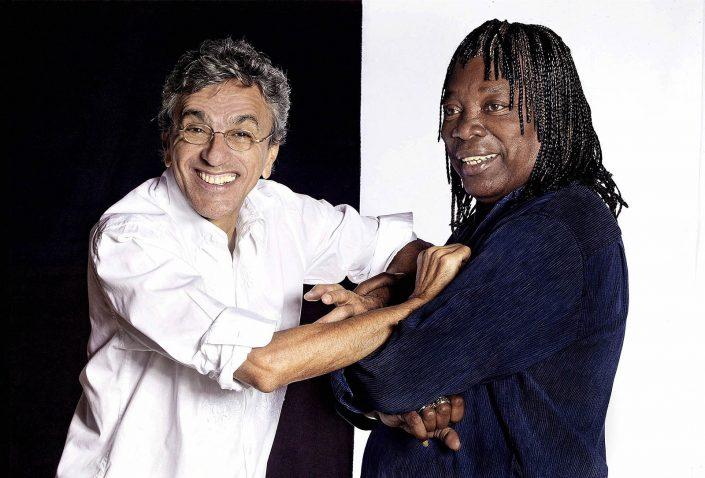 Caetano Veloso e Milton Nascimento